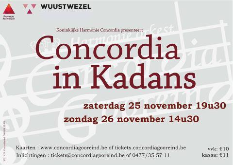 Concordia in Kadans